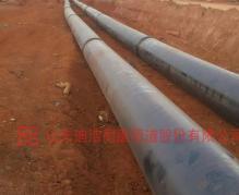 印尼输水管道现场