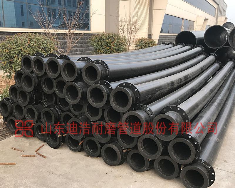 超高分子量聚乙烯管对比普通PE管与钢管的耐磨优势