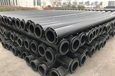 严寒地区耐低温耐磨管道的选择超高分子量聚乙烯管