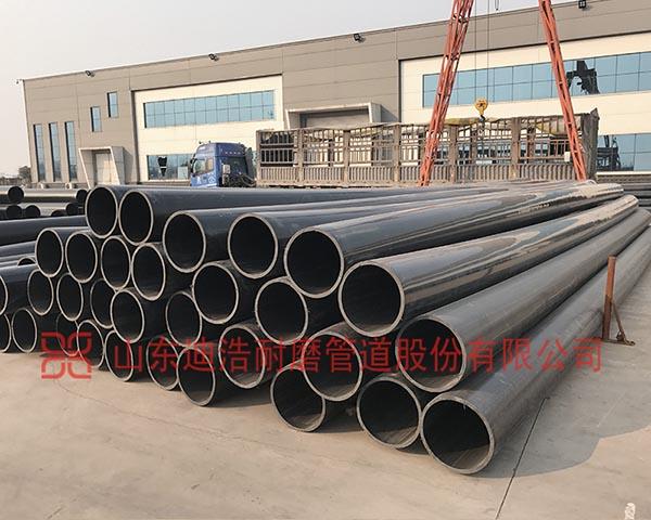 超高分子量聚乙烯管的十大产品性能优势